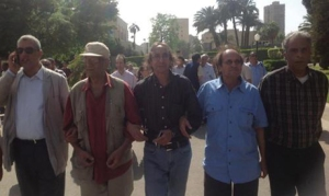 Artists march to Culture Ministry (Photo: Mohamed Saad)
