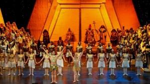 The Cairo Opera Ballet Company performing Verdi's Aida in May 2013. (MOURAD HESHMAT)